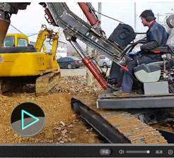滕州远大履带式旋挖钻机工作视频