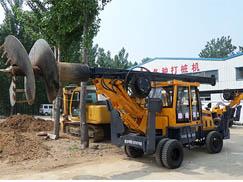 直径500-1500mm小型旋挖钻机