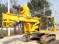 小松挖机改装旋挖钻机
