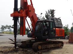挖掘机改旋挖钻
