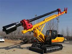 25米机锁杆旋挖钻机