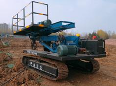 履带式基坑护坡桩机